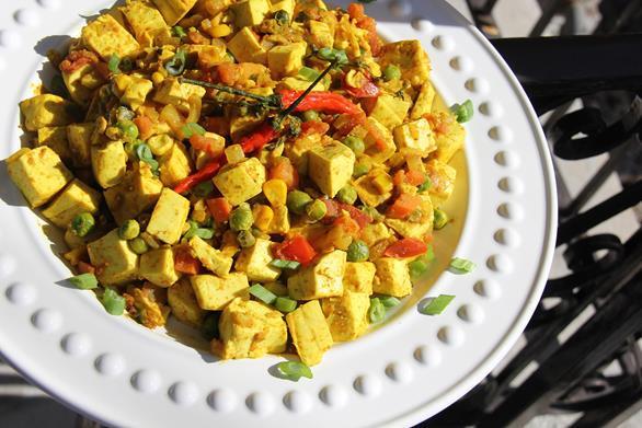 Tofu Curry Recipes  Ve arian Curry Tofu Recipe