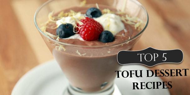 Tofu Desserts Recipes  Top 5 Tofu Dessert Recipes
