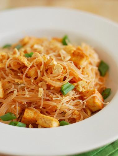 Tofu Pad Thai Recipe  Tofu Pad Thai Fake Ginger