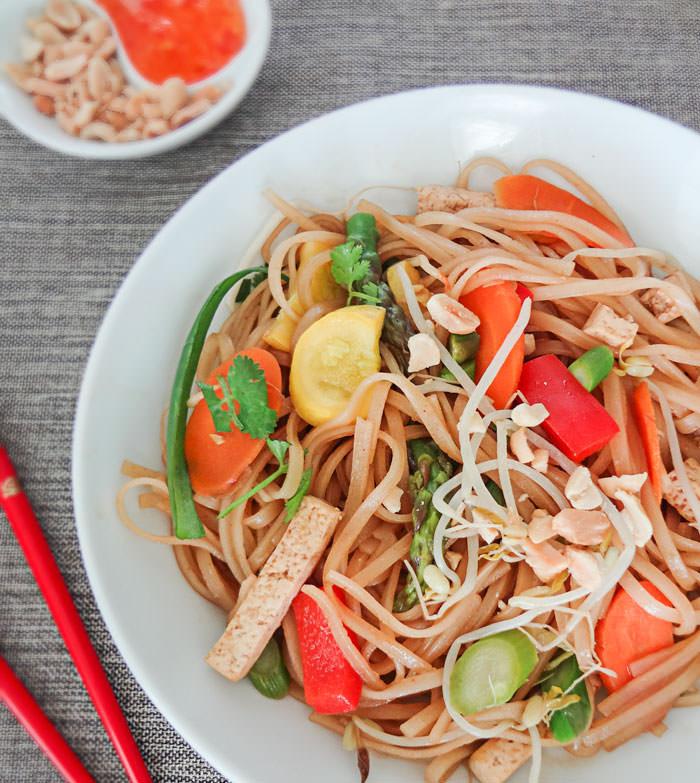 Tofu Pad Thai Recipe  Ve arian Pad Thai Recipe