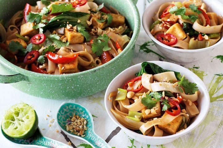 Tofu Pad Thai Recipe  Tofu pad thai