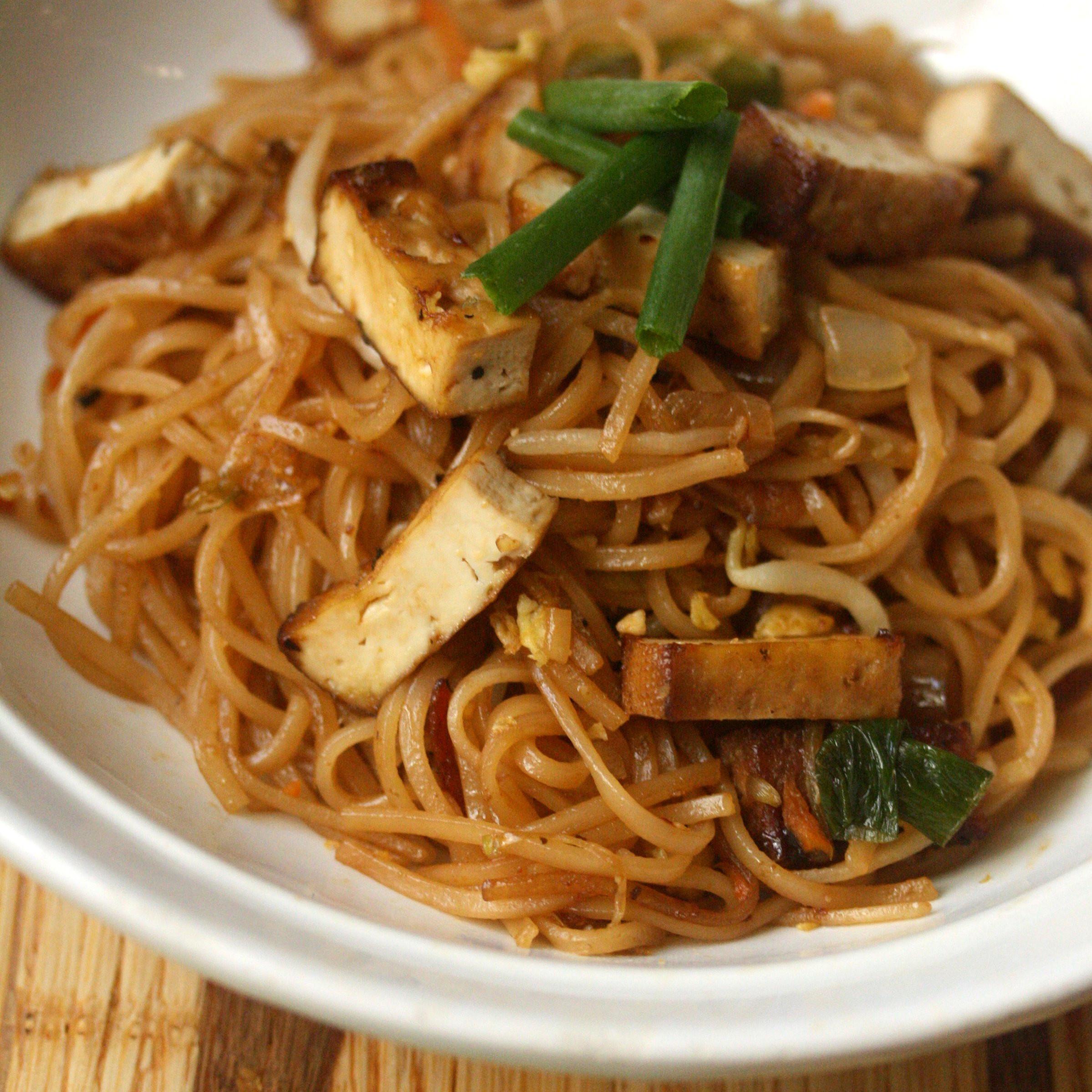 Tofu Pad Thai Recipe  Smoked Tofu Pad Thai Recipe Phoebe Lapine