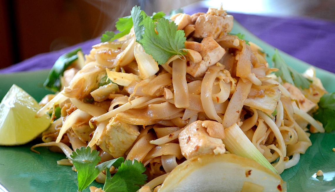 Tofu Pad Thai Recipe  Tasty Ve arian Pad Thai Recipe With Tofu AARP