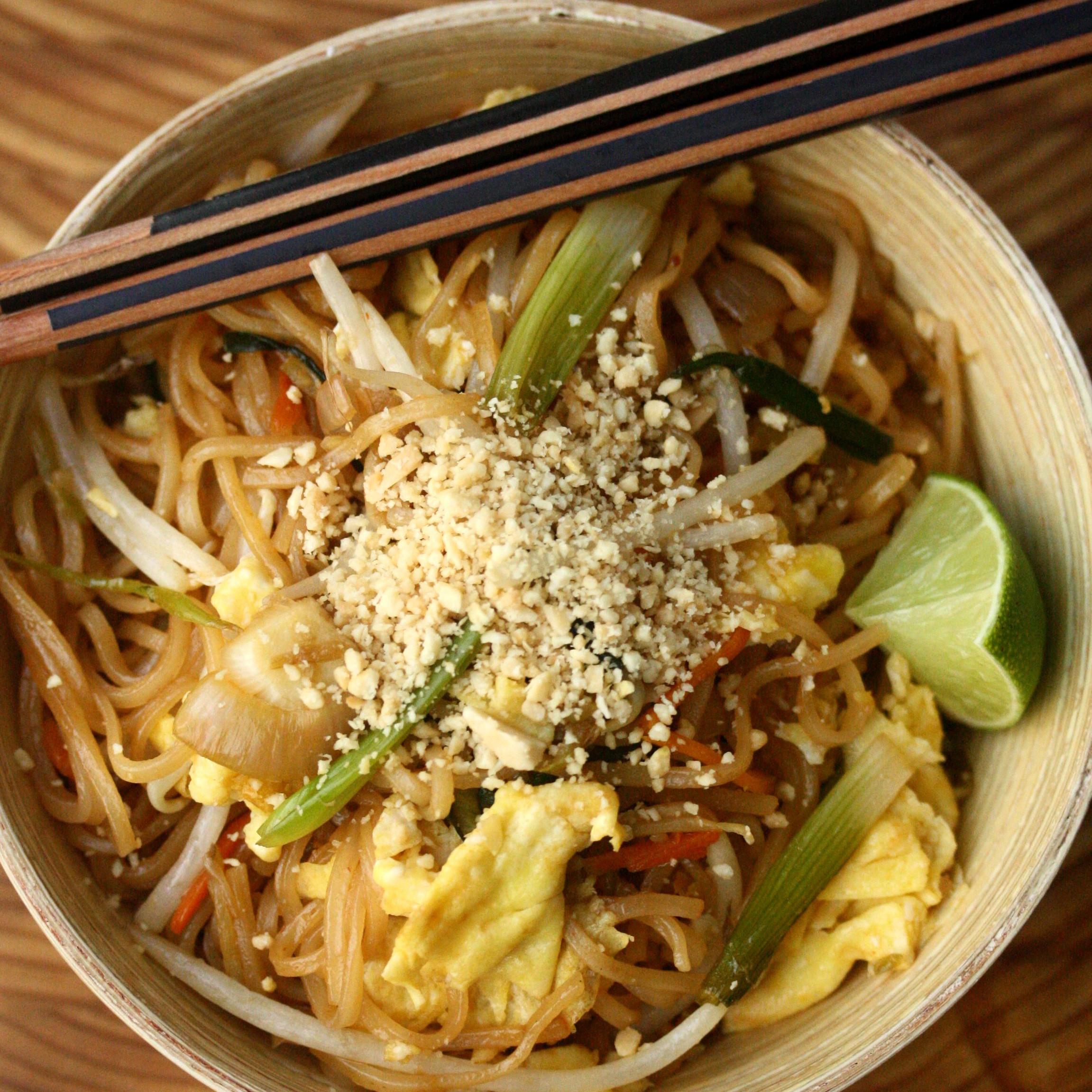 Tofu Pad Thai Recipe  Ve arian Pad Thai Recipe Phoebe Lapine