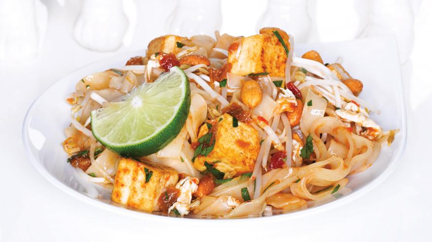 Tofu Pad Thai Recipe  Best Pad Thai Recipe Easy Pad Thai Recipe