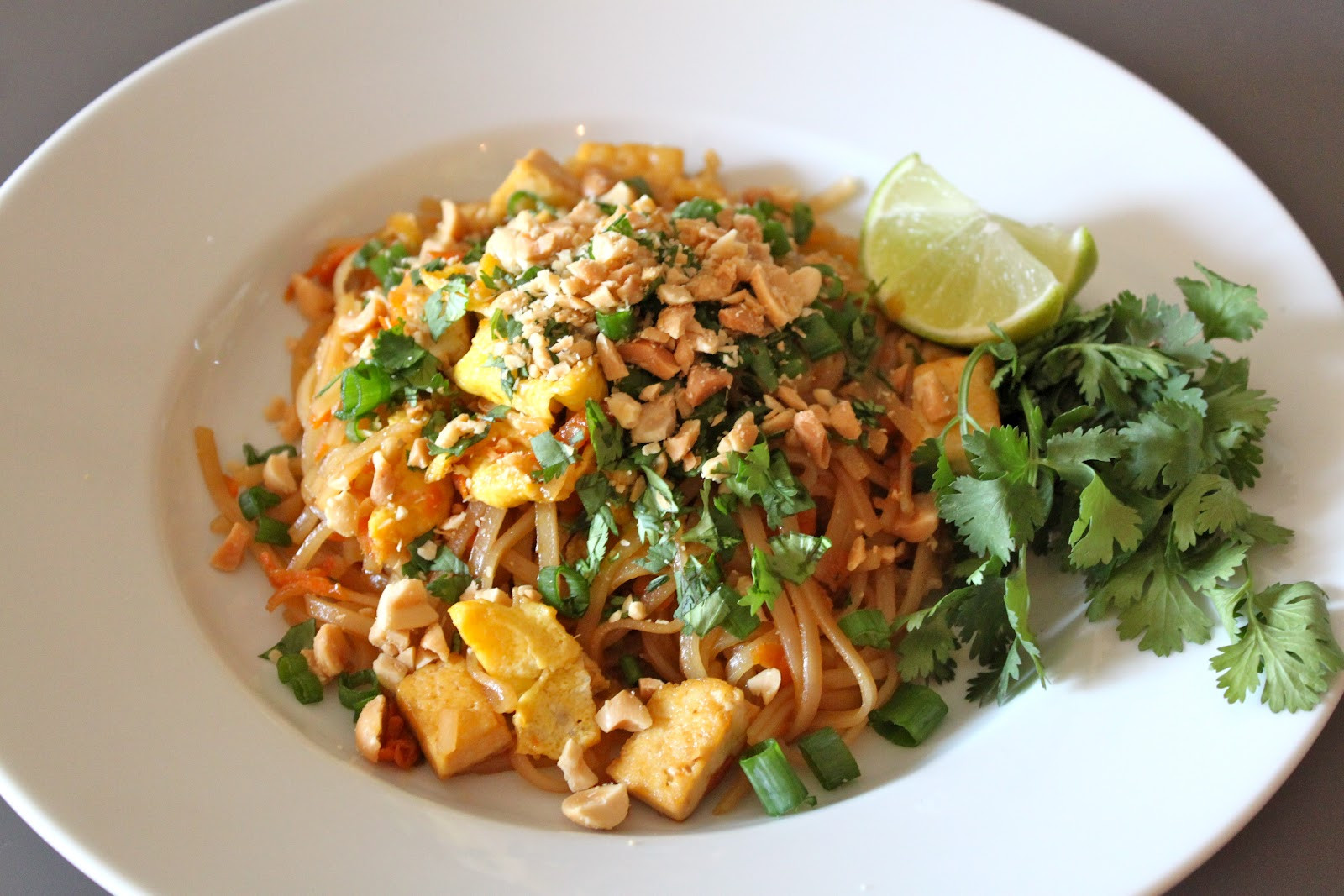 Tofu Pad Thai Recipe  Domestic Charm Tofu Pad Thai