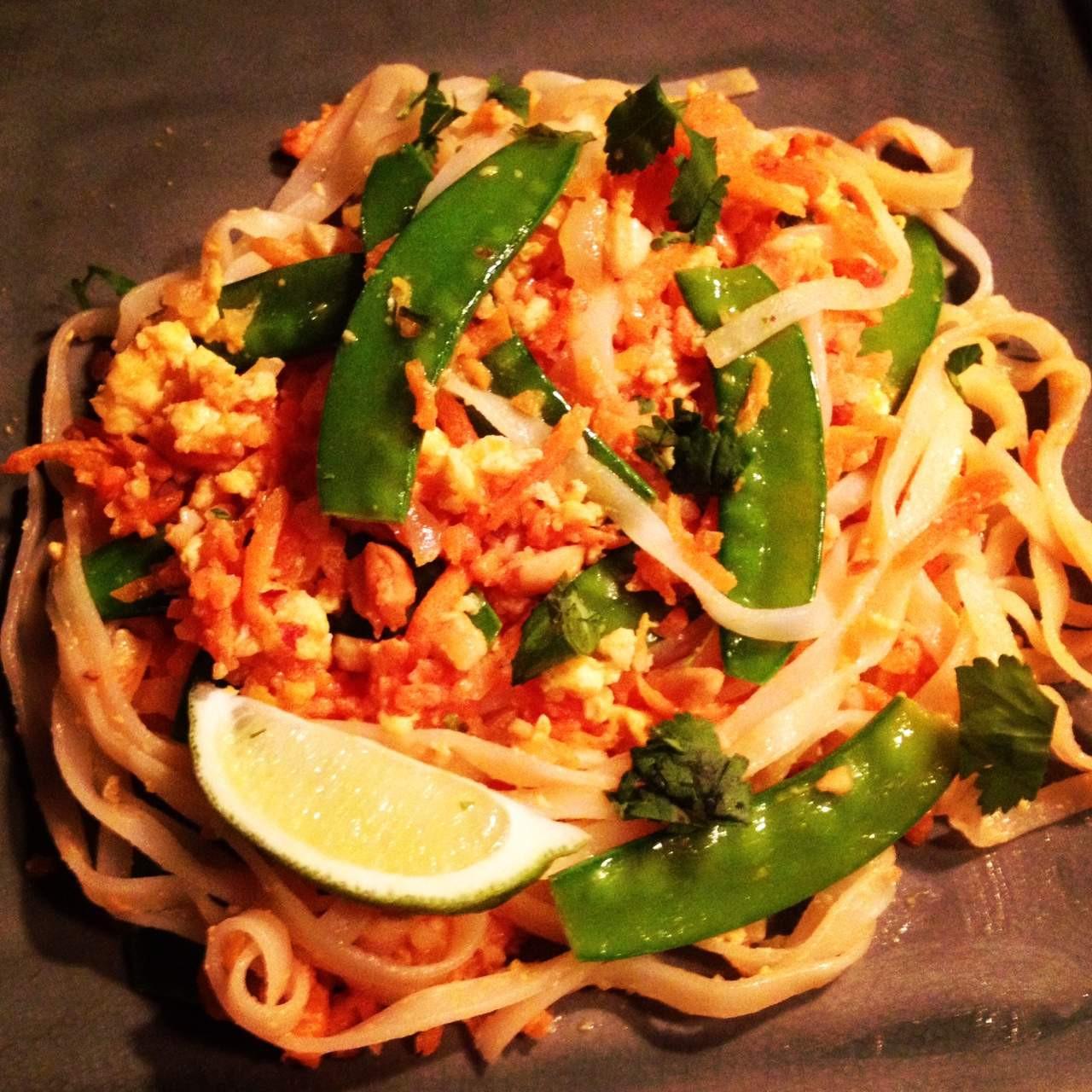 Tofu Pad Thai Recipe  Ve arian Pad Thai Dietetic Directions Dietitian and