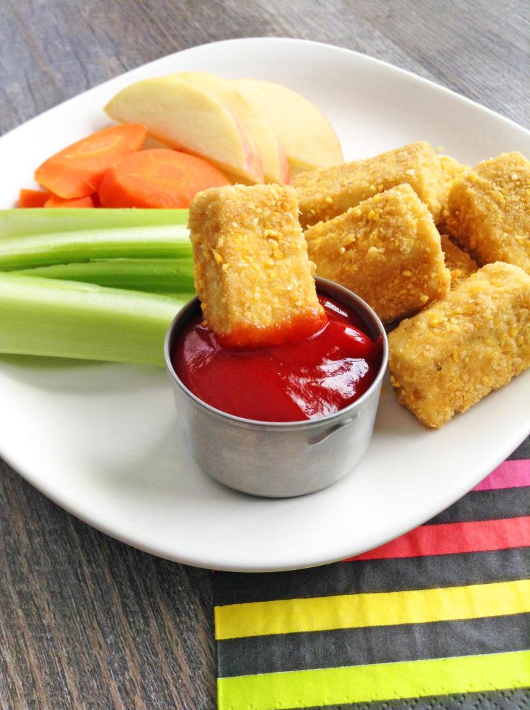 Tofu Recipes For Kids  Crispy Baked Tofu Nug s