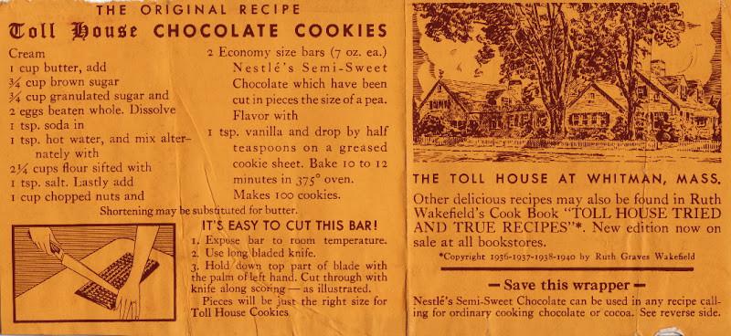 Toll House Cookies Recipe  Home Sweet Home