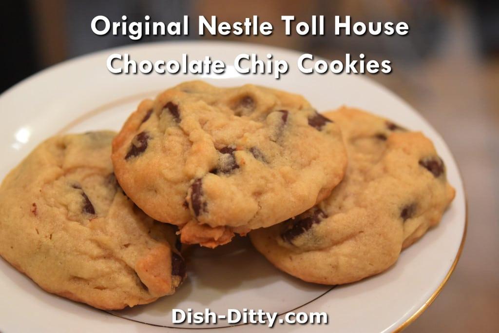 Toll House Cookies Recipe  Original Nestle Toll House Chocolate Chip Cookies Recipe