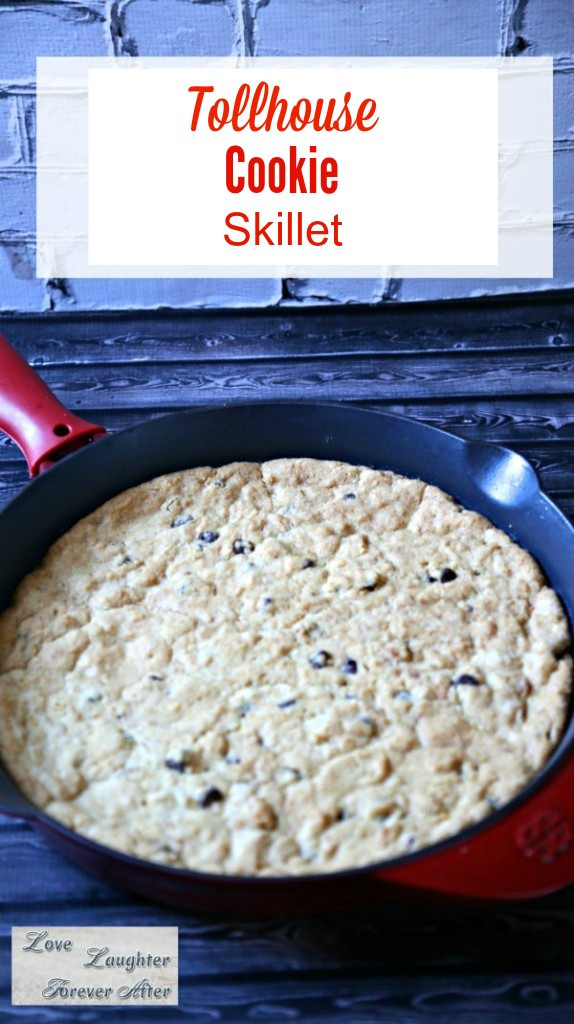 Toll House Cookies Recipe  Toll House Pan Cookie Recipe Love Laughter Foreverafter