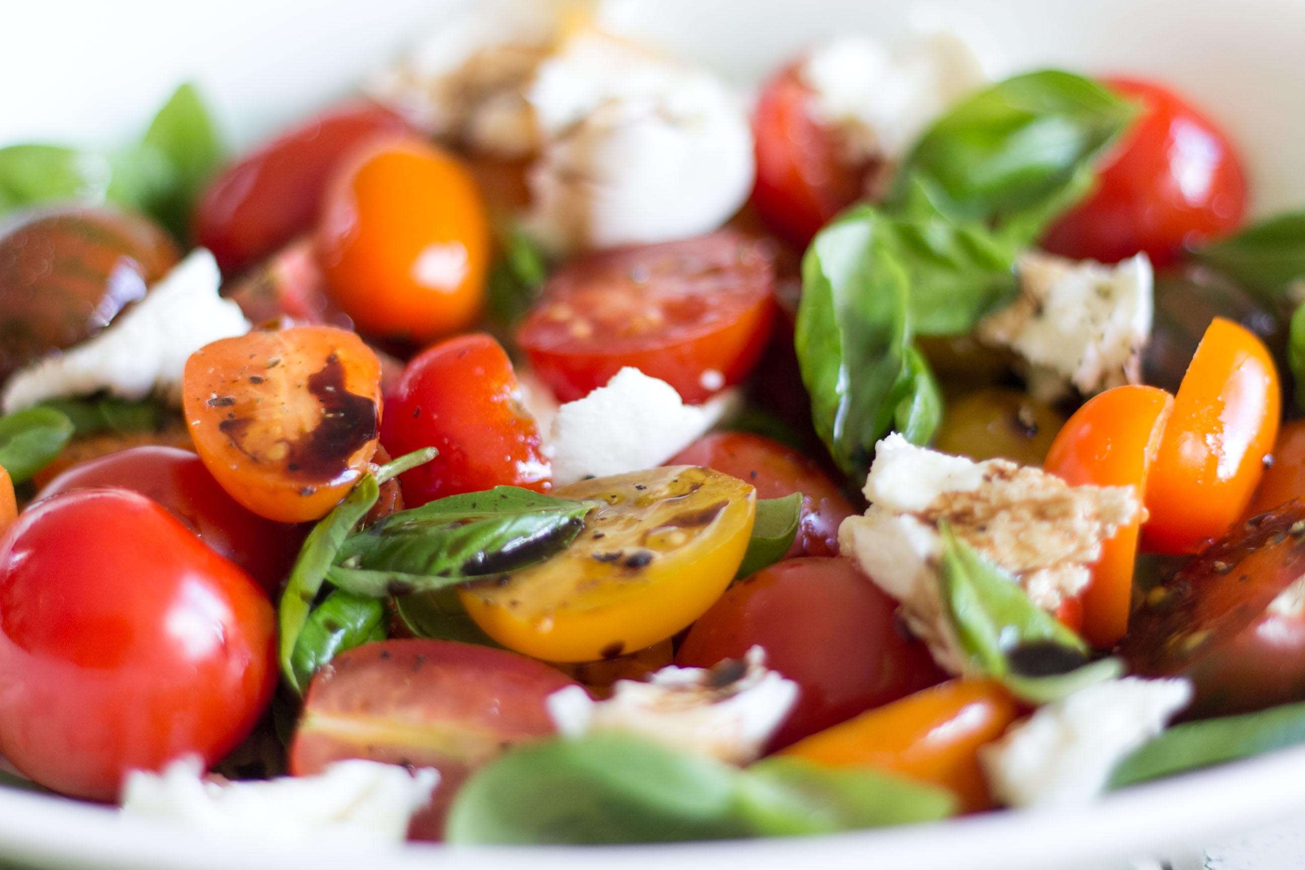 Tomato And Mozzarella Salad  Tomato and Mozzarella Salad