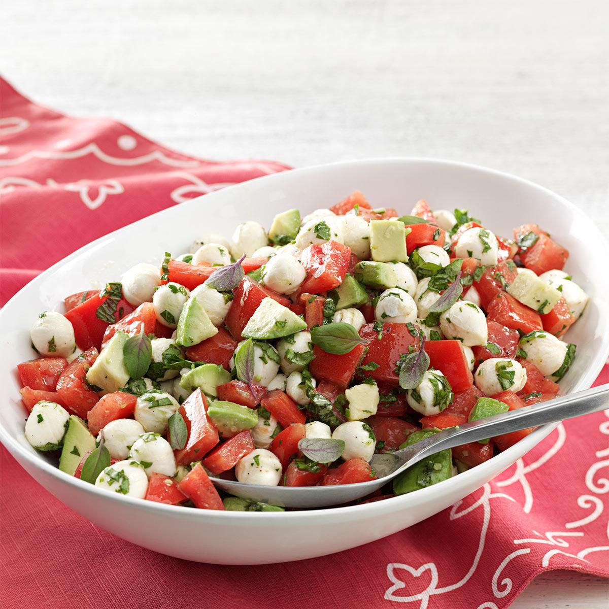 Tomato And Mozzarella Salad  Fresh Mozzarella & Tomato Salad Recipe