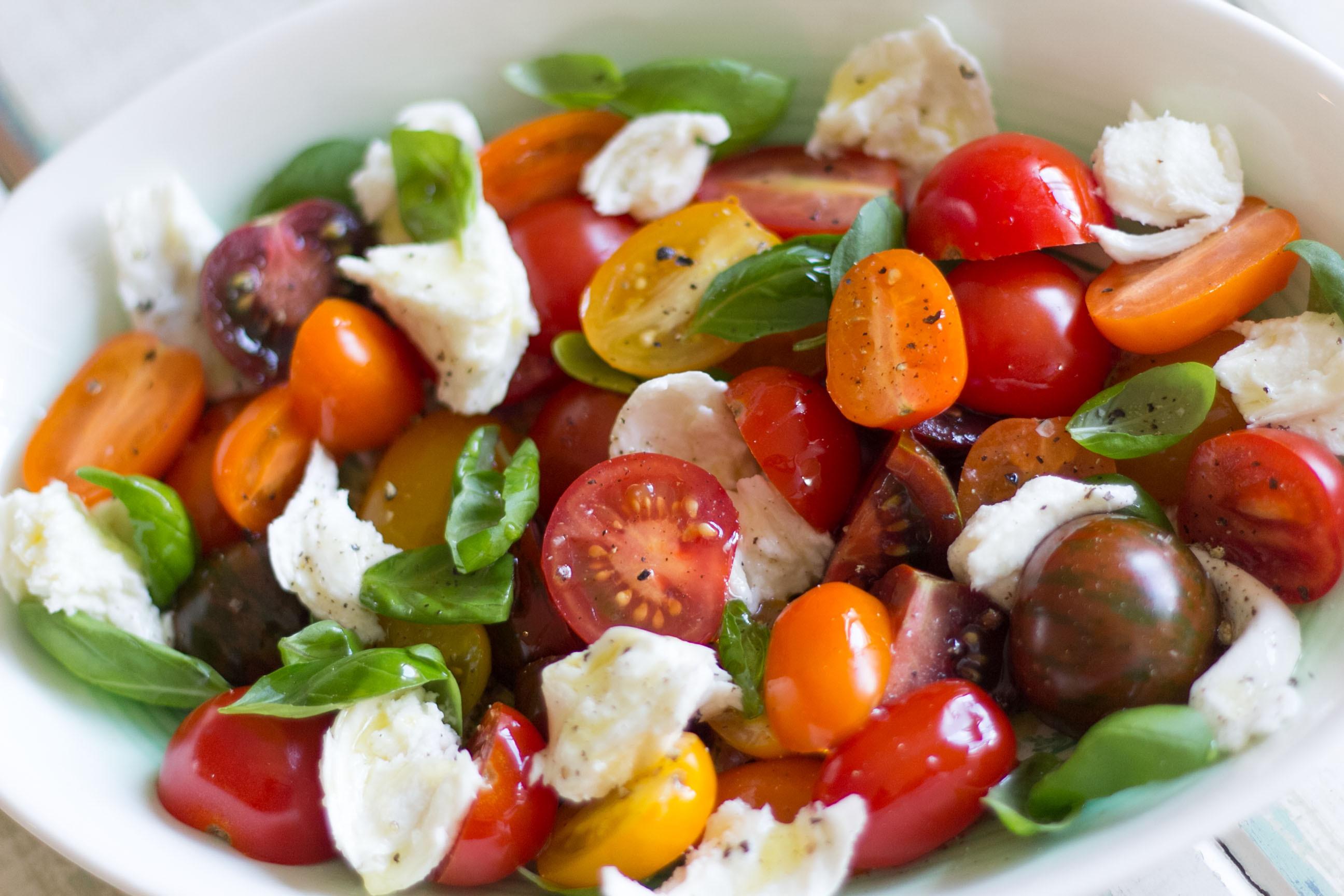 Tomato And Mozzarella Salad  tomato mozzarella salad