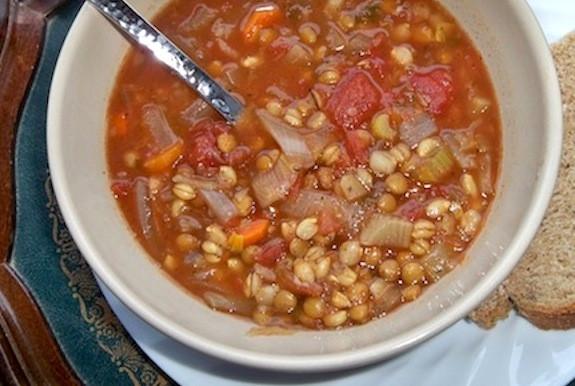 Tomato Based Soups  Tomato lentil and barley soup