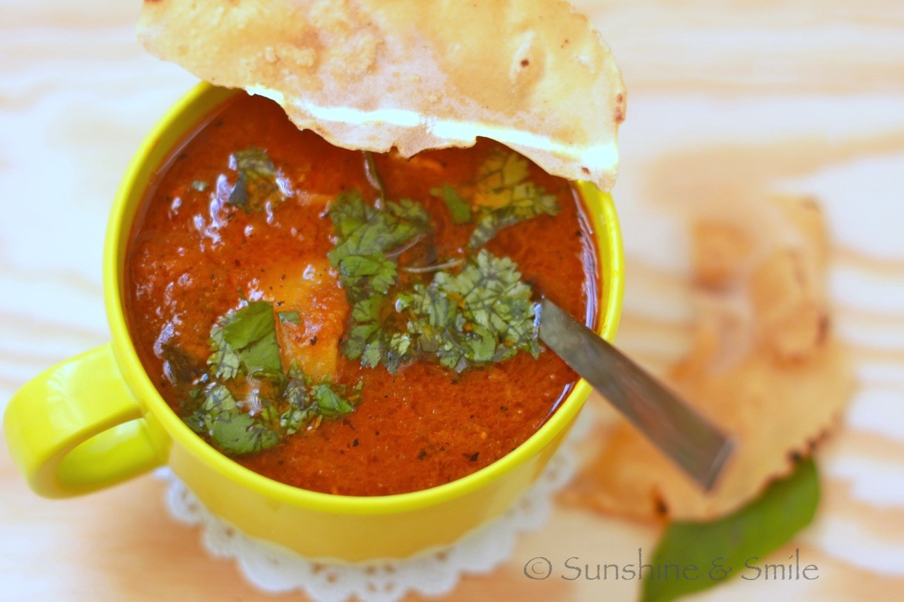 Tomato Based Soups  Tangy Tomato based Indian Soup
