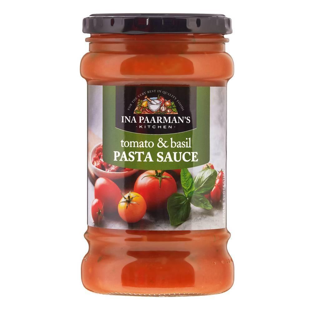 Tomato Basil Pasta Sauce  Ina Paarman