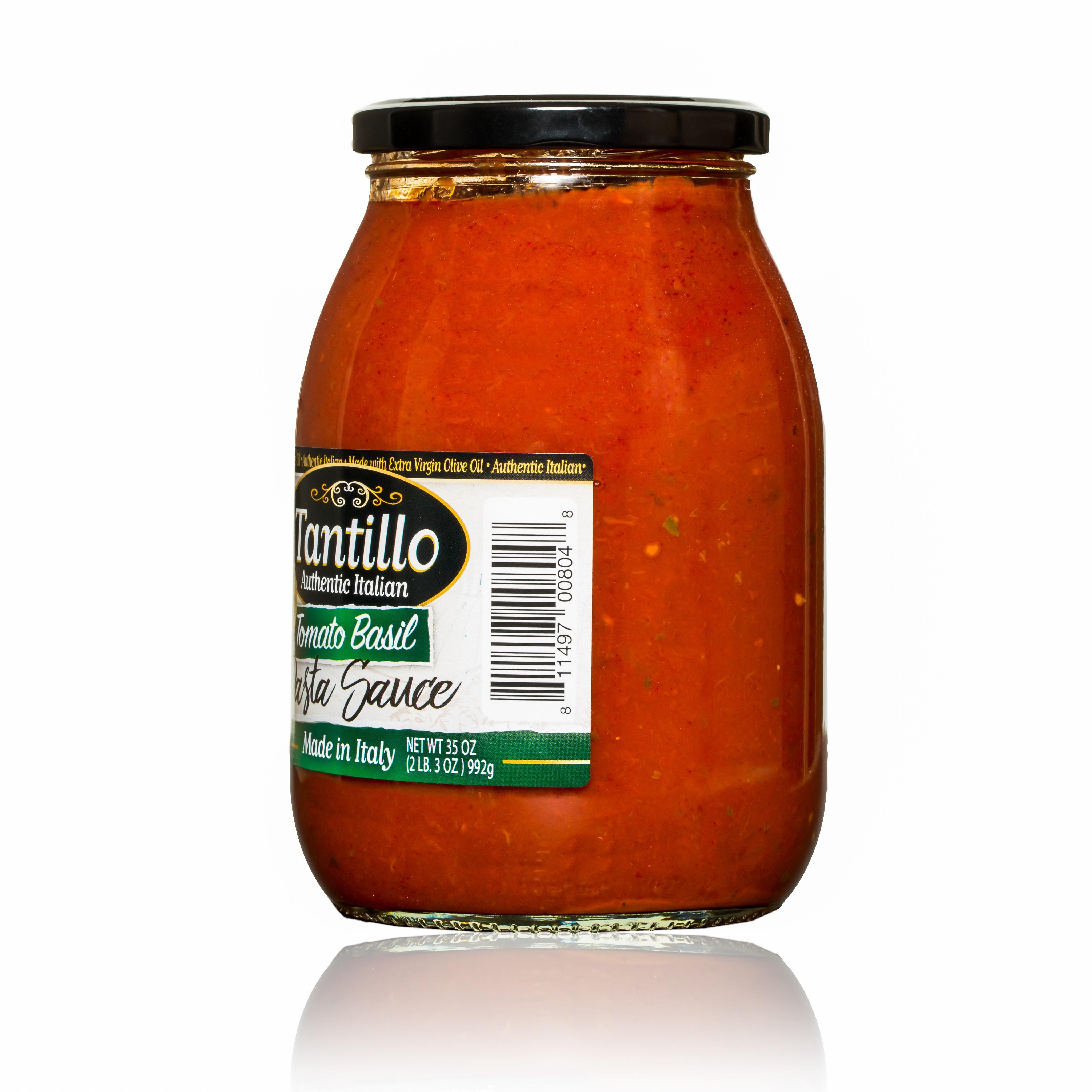 Tomato Basil Sauce  Tantillo Tomato Basil Sauce