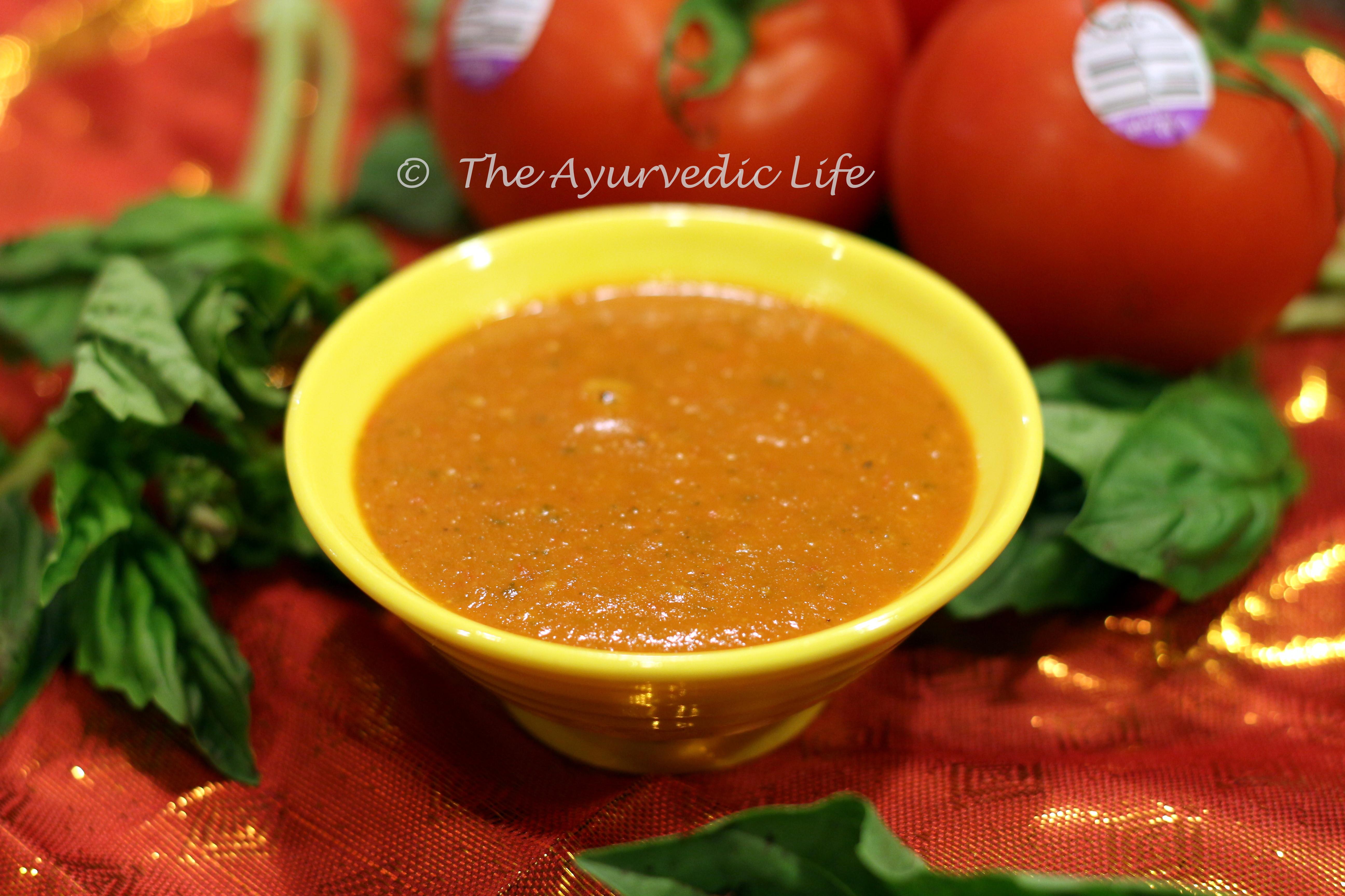Tomato Basil Sauce  Tomato Basil Pasta Sauce The Ayurvedic Life Choose