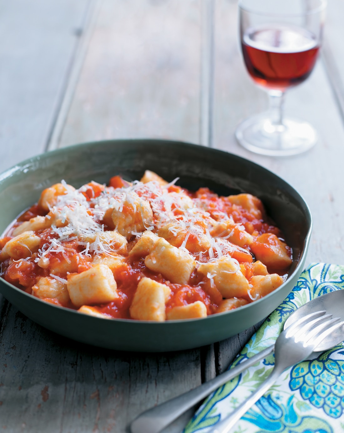 Tomato Basil Sauce  Gnocchi with fresh tomato and basil sauce