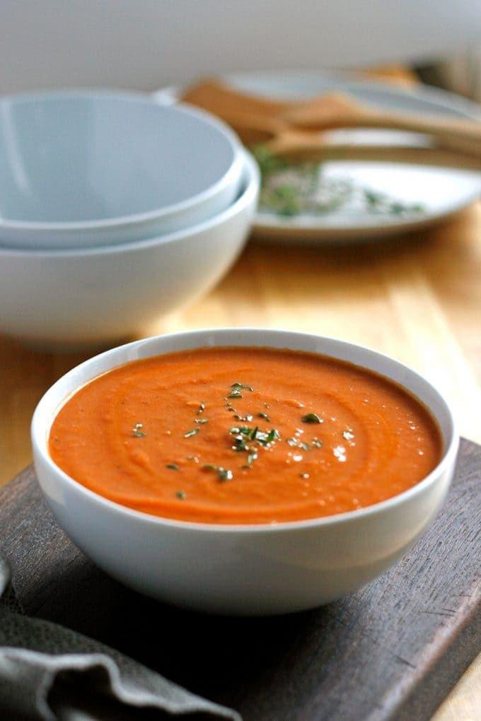 Tomato Bisque Soup  Tomato Bisque Recipe