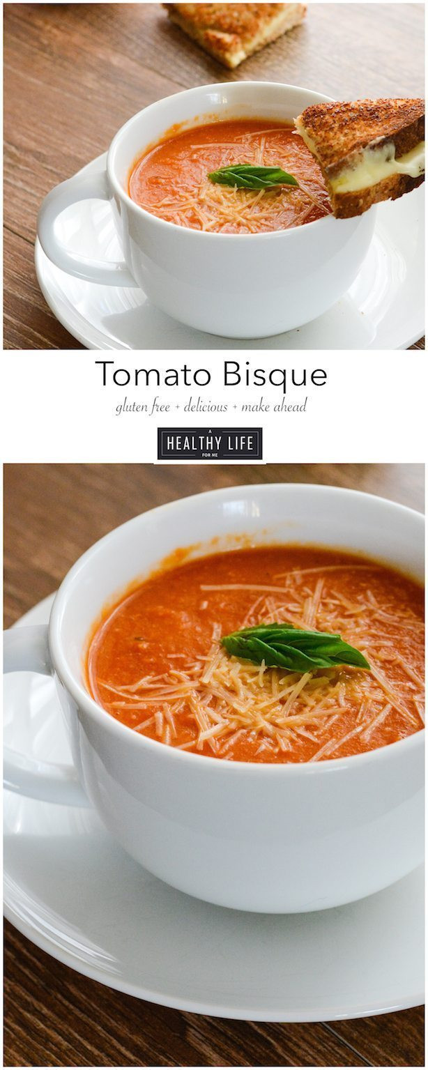 Tomato Bisque Soup  Tomato Bisque A Healthy Life For Me