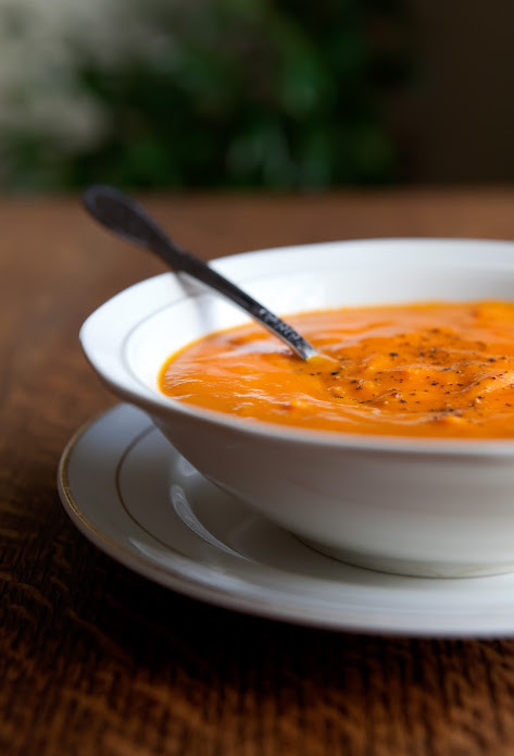 Tomato Bisque Soup  The Flour Sack Tomato Bisque Soup with Orzo