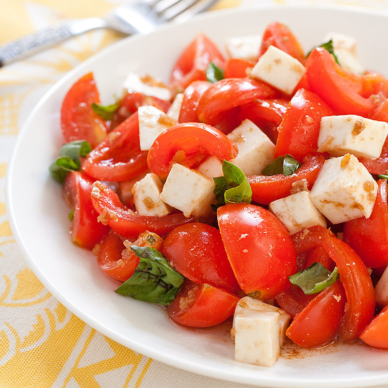Tomato Caprese Salad  Cherry Tomato Caprese Salad
