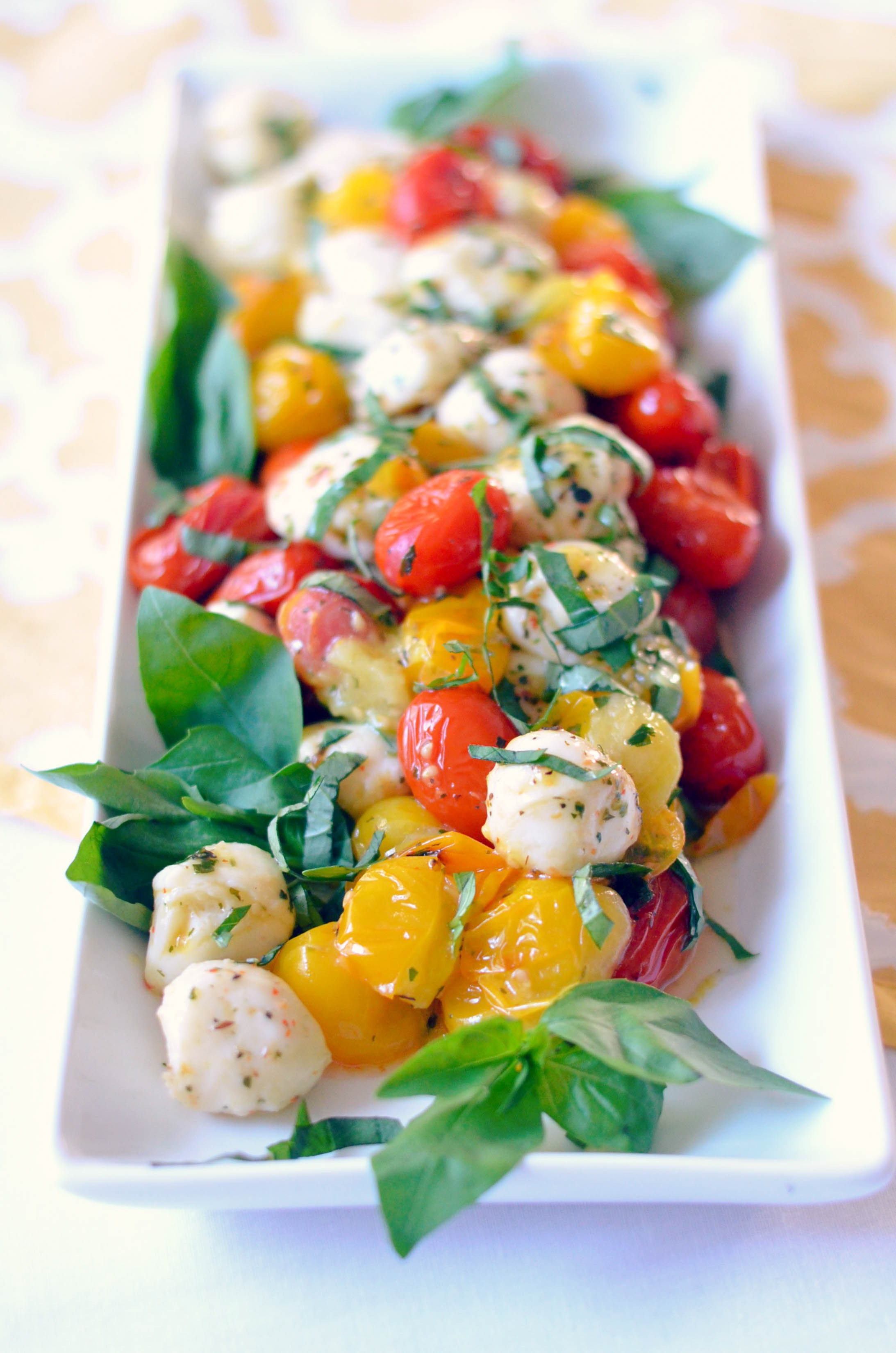 Tomato Caprese Salad  tomato caprese salad