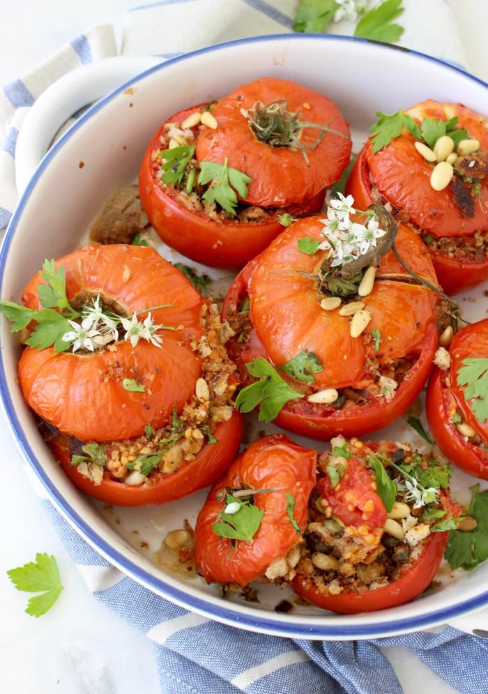Tomato In Italian  Stuffed Tomatoes Recipe Italian • CiaoFlorentina