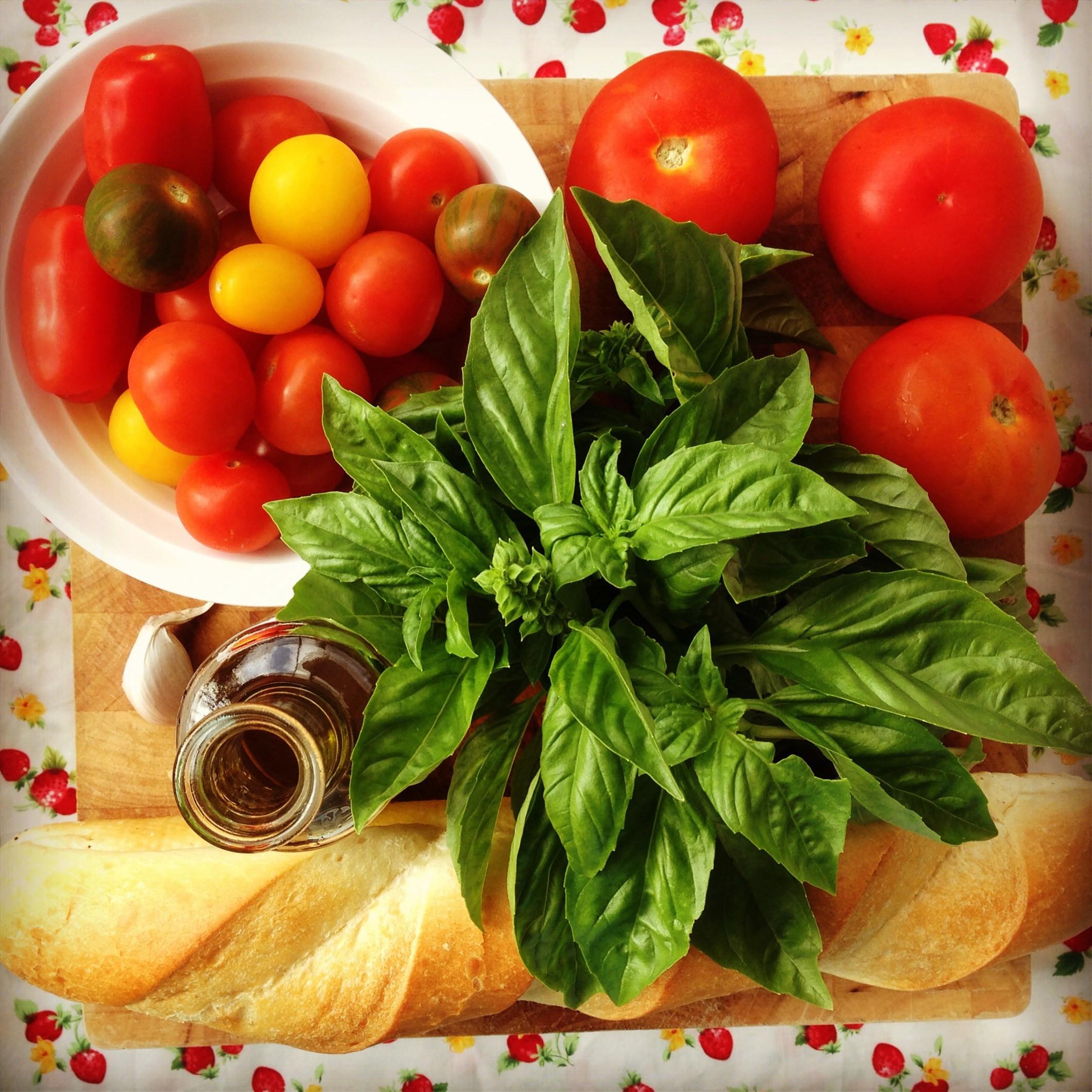 Tomato In Italian  italian tomato & bread salad my lovely little lunch box