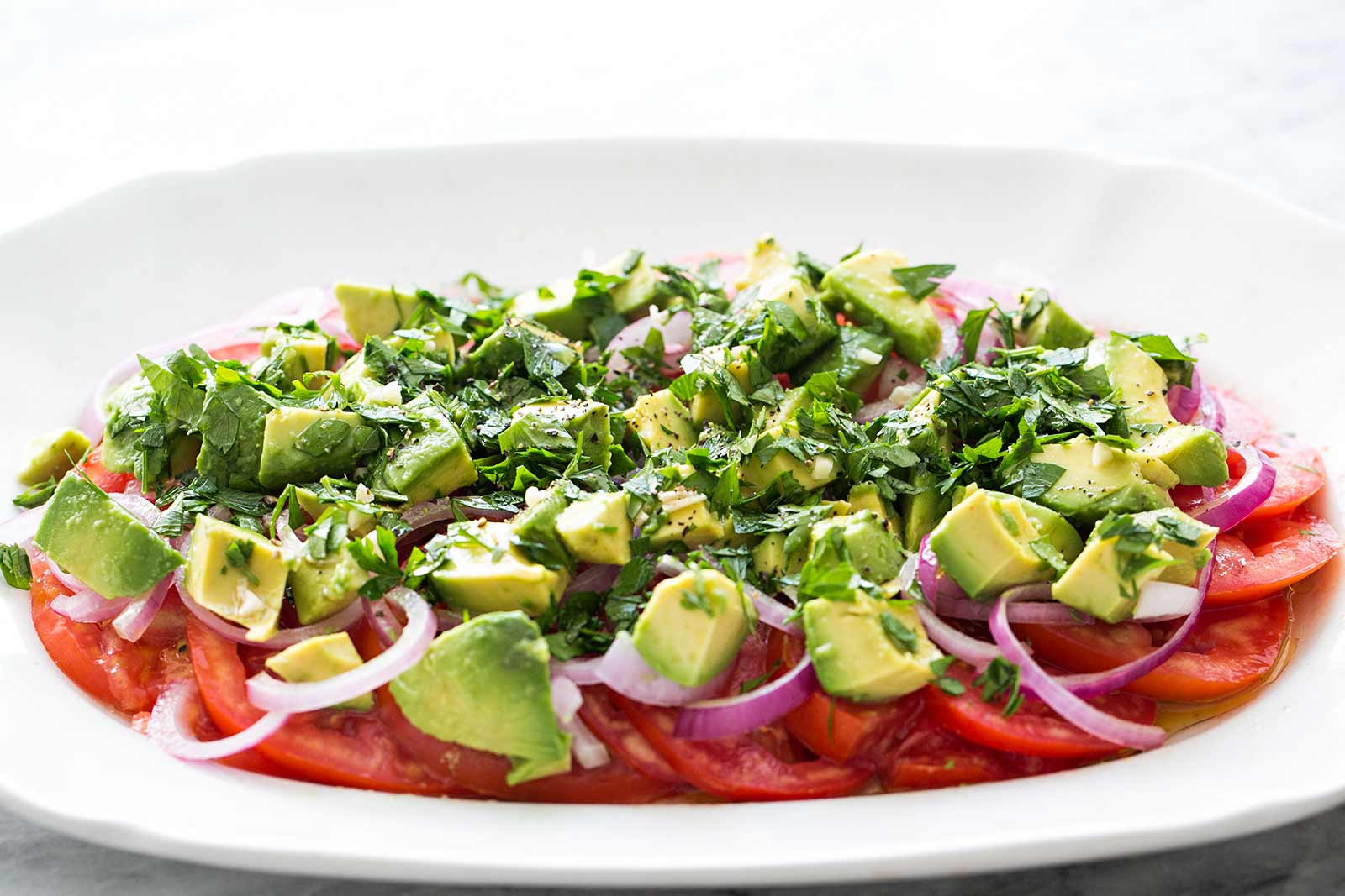 Tomato Onion Salad  Tomato ion Avocado Salad Recipe