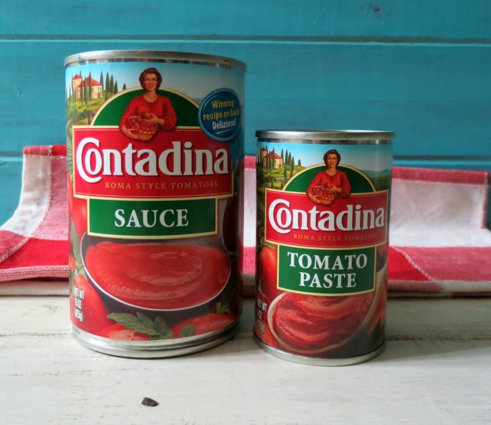 Tomato Paste To Sauce  contadina tomato sauce recipes