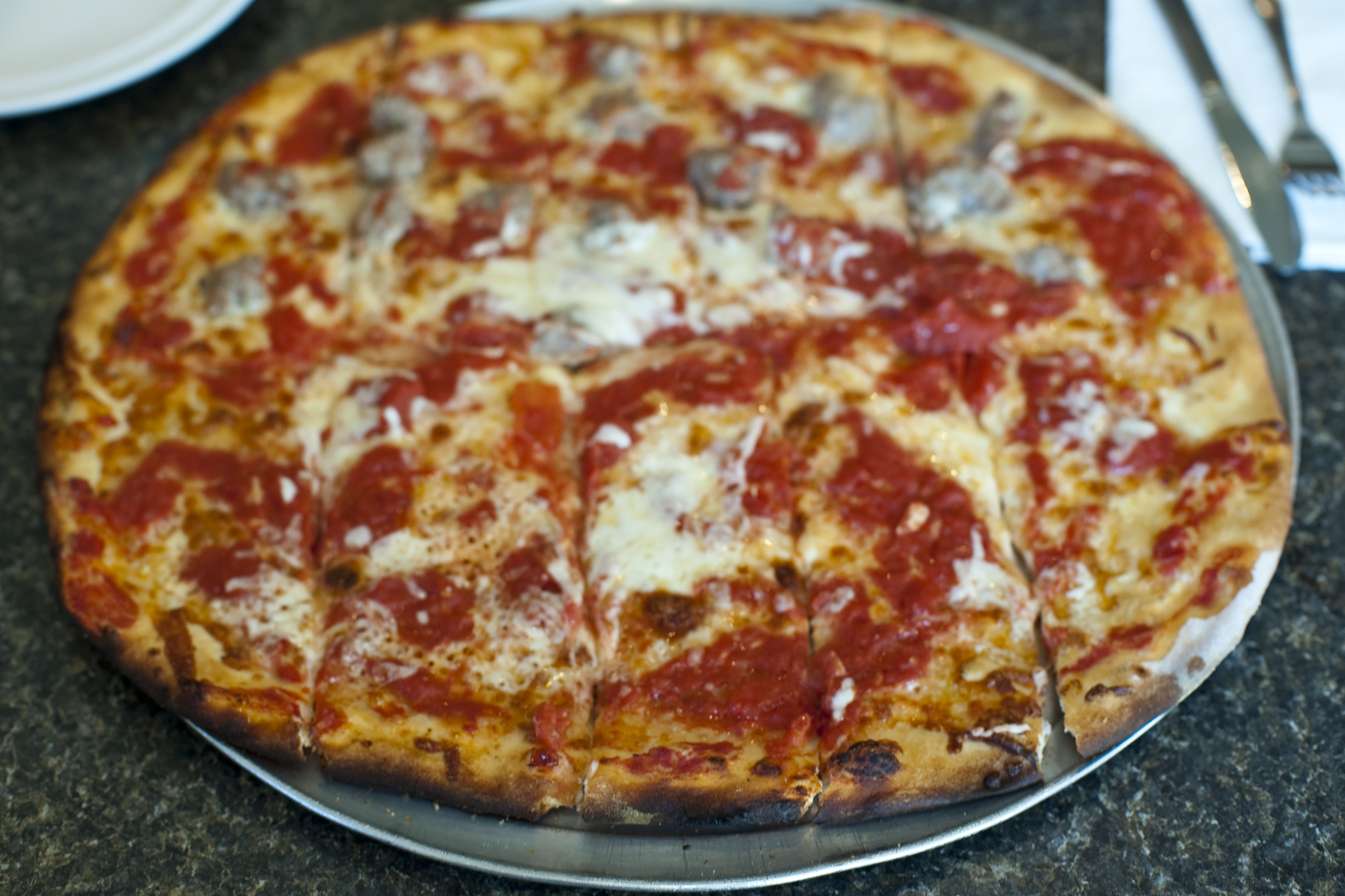 Tomato Pie Pizza  New York Pizza Styles A plete Guide Eater NY
