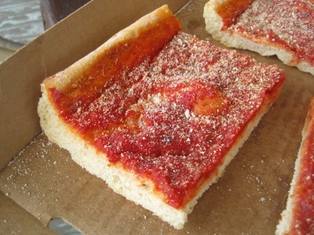 Tomato Pie Pizza  Daily Slice Corropolese Bakery Norristown PA