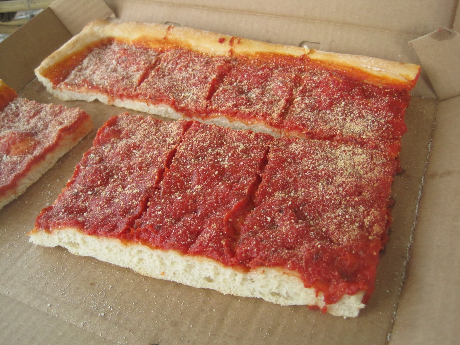 Tomato Pie Pizza  Drawing for Food Corropolese Bakery