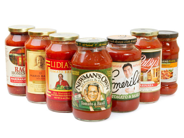 Tomato Sauce Brands  Taste Test Jarred Pasta Sauces from Celebrity Chefs and