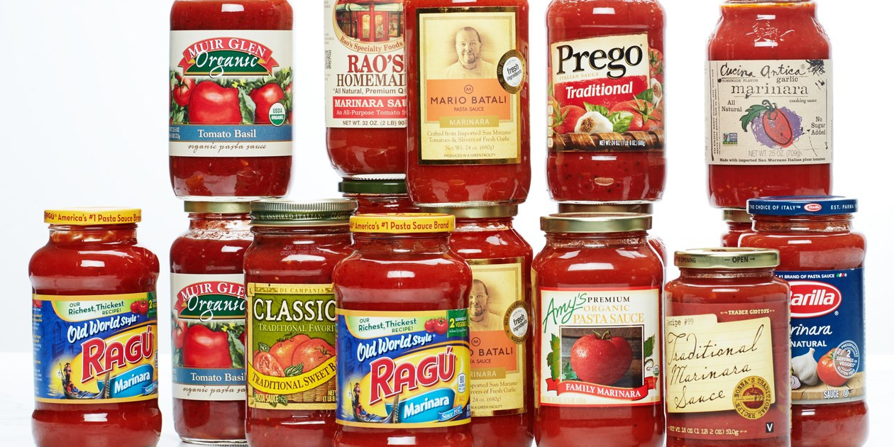 Tomato Sauce Brands  How to Make Jarred Pasta Sauce Better