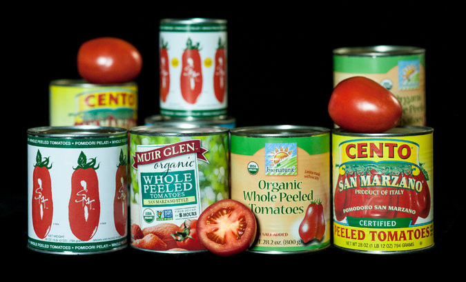 Tomato Sauce Brands  ingre nts in canned tomato sauce