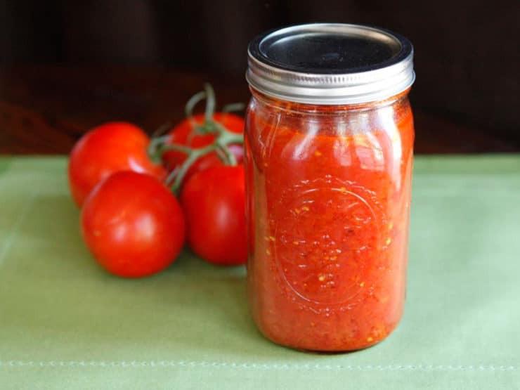 Tomato Sauce Canning Recipe  Basic Roasted Tomato Sauce