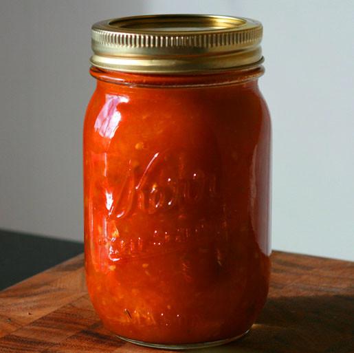 Tomato Sauce Canning Recipe  Crock Pot Tomato Sauce with Fresh Tomatoes