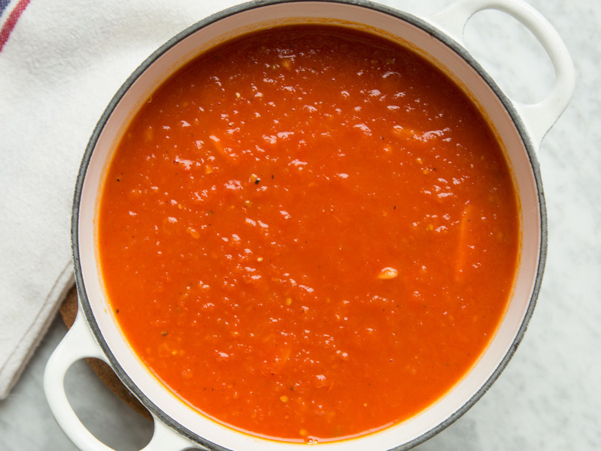 Tomato Sauce Recipe  Basic Tomato Sauce from Fresh Tomatoes Recipe Grace