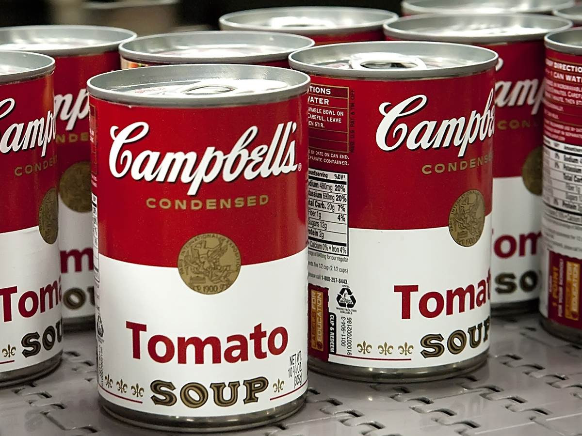 Tomato Soup Can  Kicking the can Campbell s hit by fresh food shift NBC News
