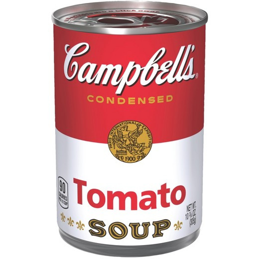 Tomato Soup Can  Campbell s Condensed Tomato Soup 10 75 oz Tar