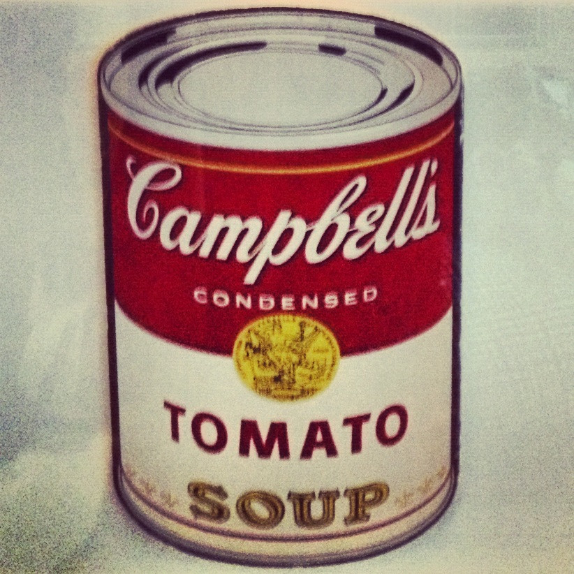 Tomato Soup Can  Andy Warhol's Tomato Soup Can