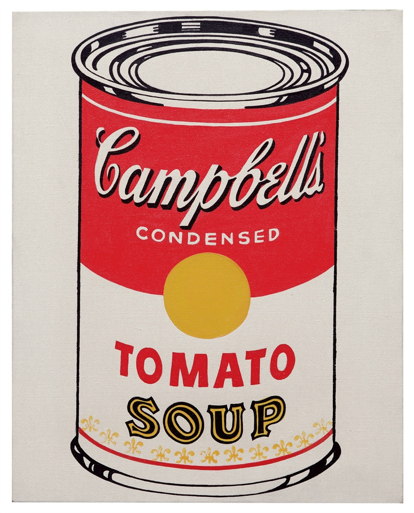 Tomato Soup Can  Andy Warhol 1928 1987