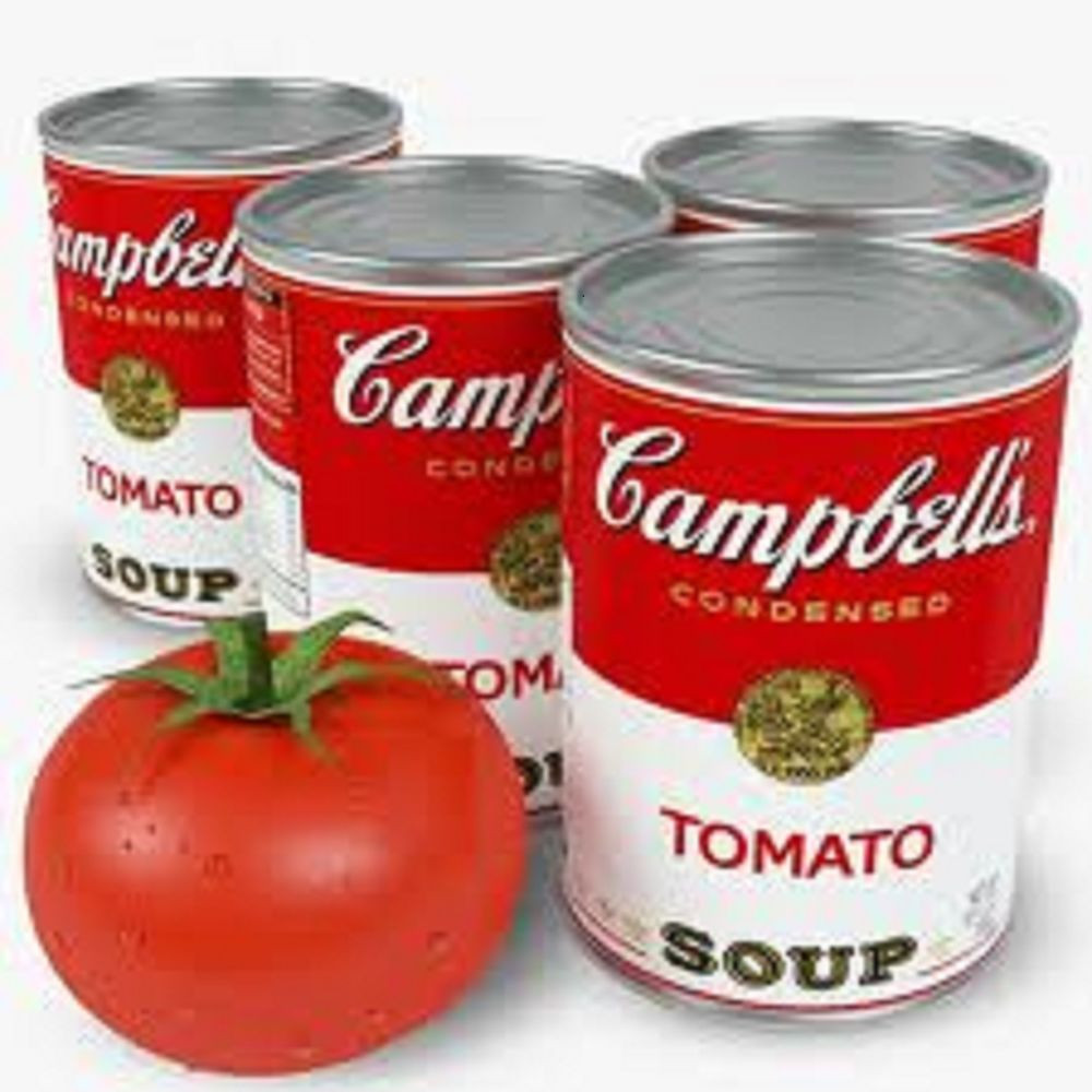 Tomato Soup Can  12 CAMPBELL S TOMATO SOUP 10 OUNCE CANS