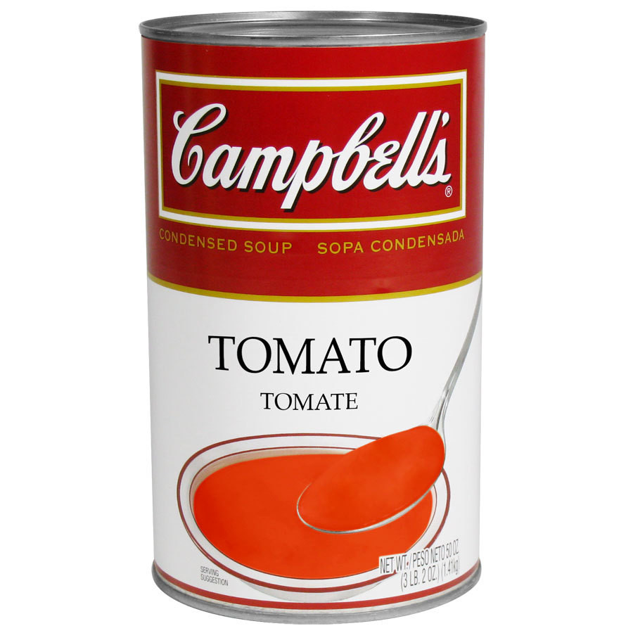 Tomato Soup Can  Campbell s Tomato Soup Condensed 50 oz Can