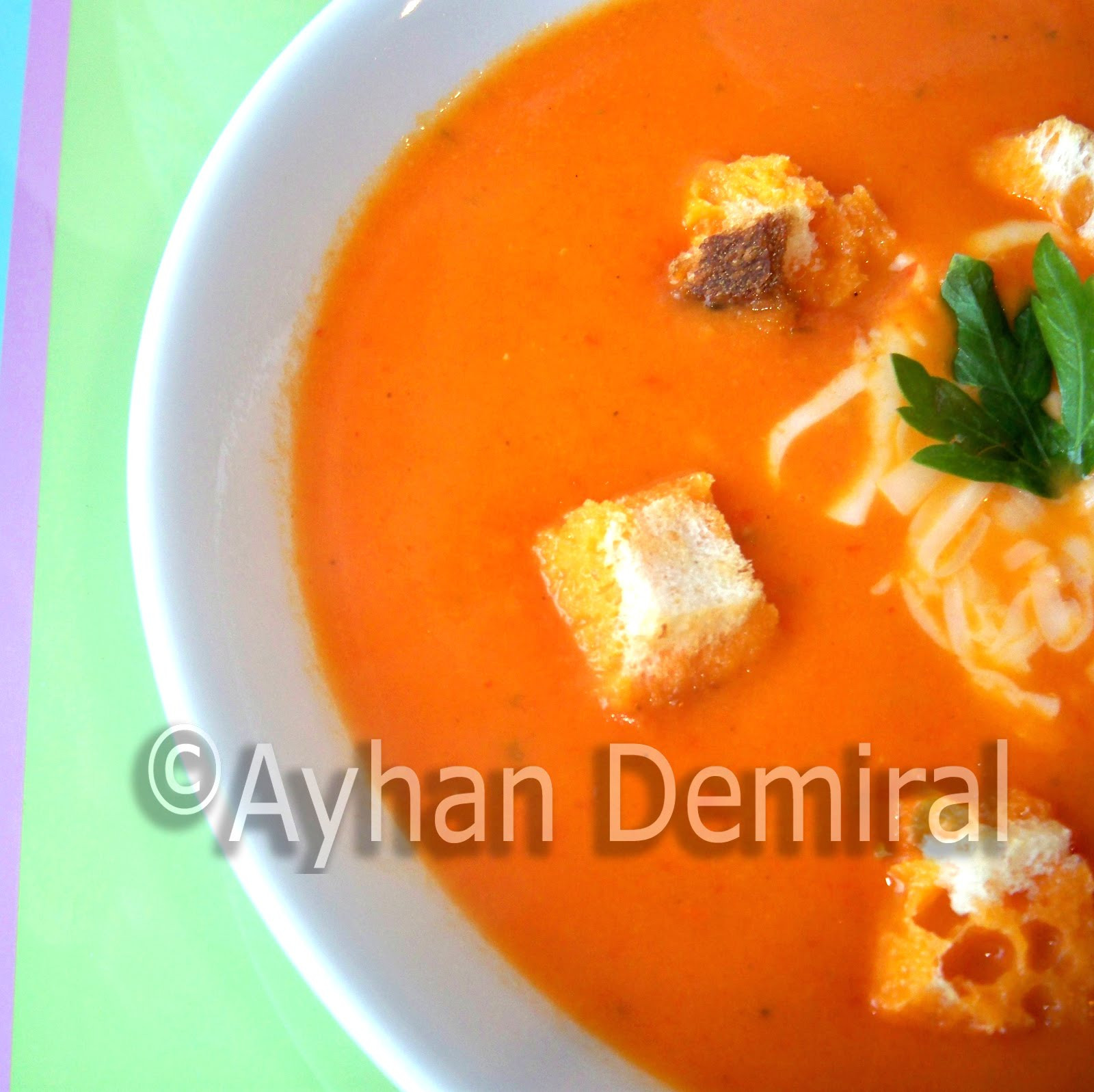 Tomato Soup From Tomato Paste  Kingdom of Fruit and Ve ables Tomato Soup Made from