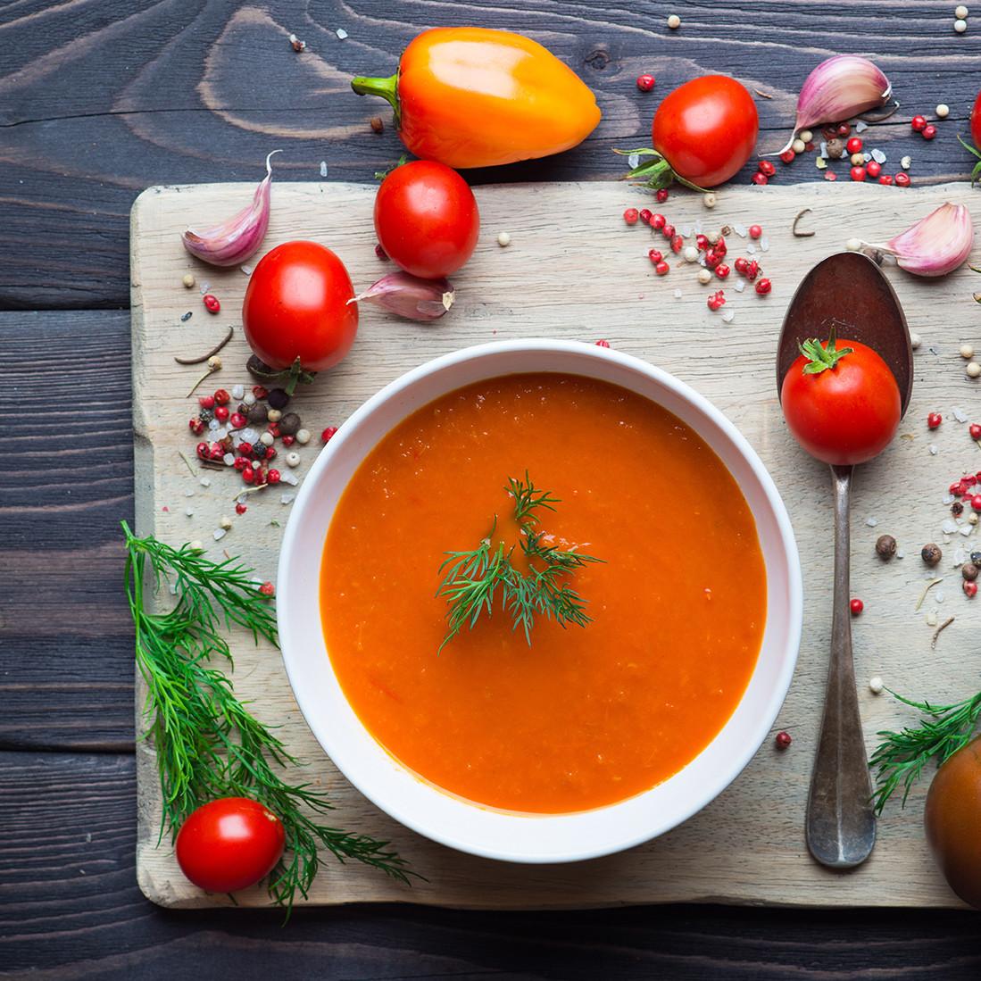 Tomato Soup From Tomato Paste  High Protein Tomato Soup PROFI